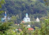 Троице-Георгиевский женский монастырь в селе Лесное в горах под Сочи